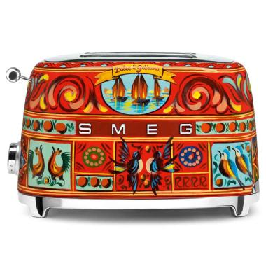 Dolce & Gabbana Two-Slice Toaster by Smeg