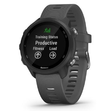 Garmin Forerunner 245 30mm GPS Watch with Heart Rate Monitor -Slate Grey