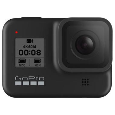 GoPro HERO8 Waterproof 4K Sports & Helmet Camera (Black)
