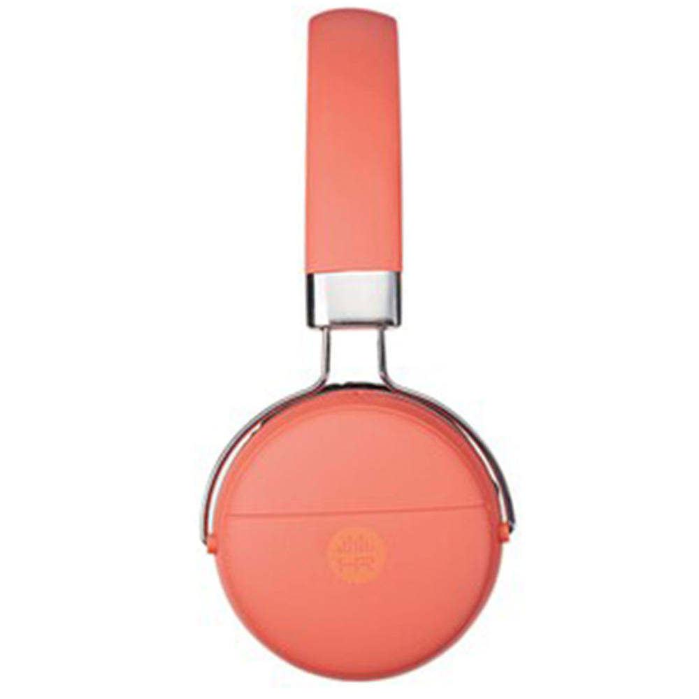 HeadRush Compact On-Ear Wireless Headphones - Coral