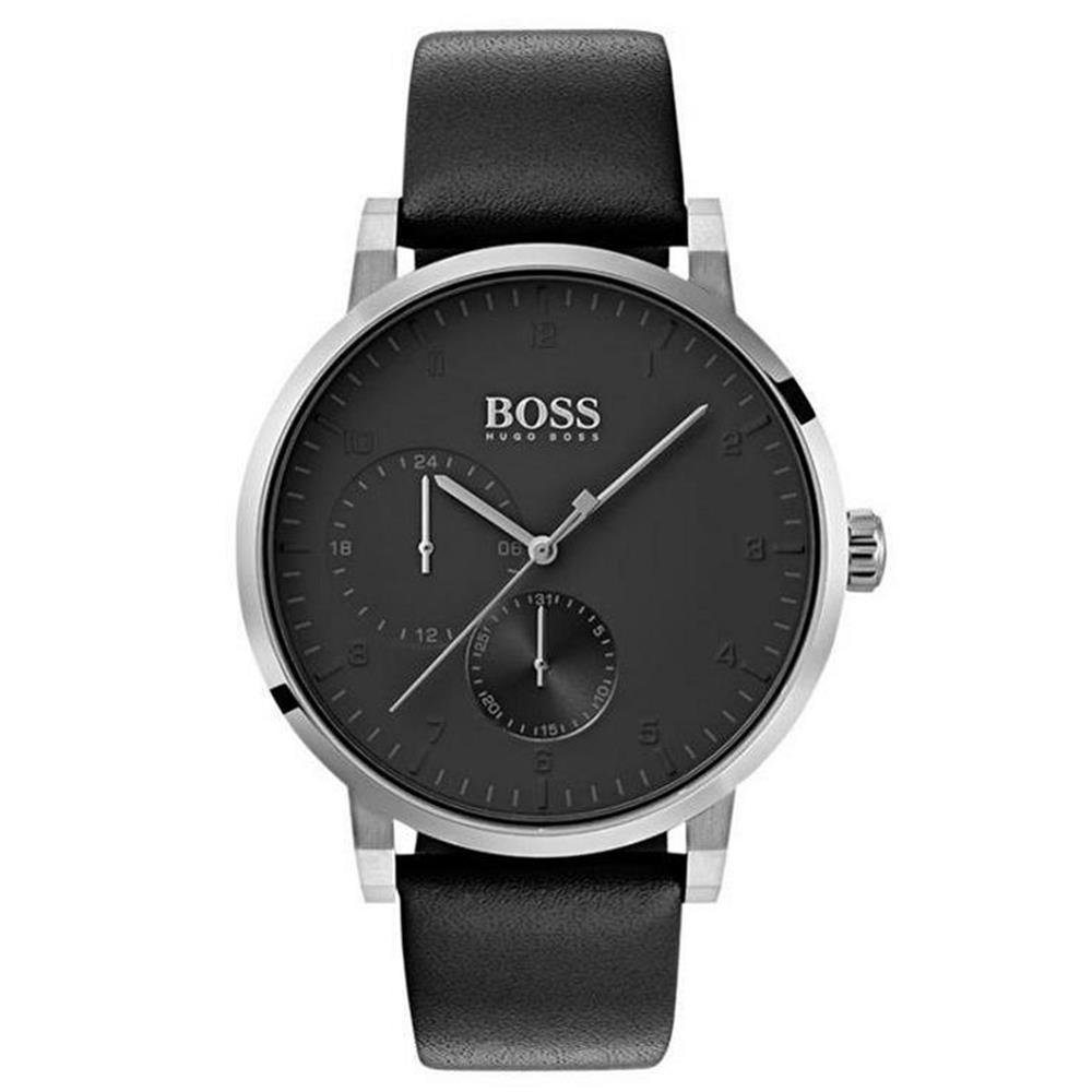 Hugo Boss Oxygen Men's Watch Black with Stainless Steel