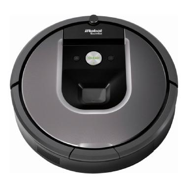 iRobot Roomba 960 App-Controlled Self-Charging Robot Vacuum (Gray)