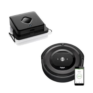 iRobot E5 5150 Wi-Fi<sup>®</sup> Connected Robot Vacuum Bundle (Black)