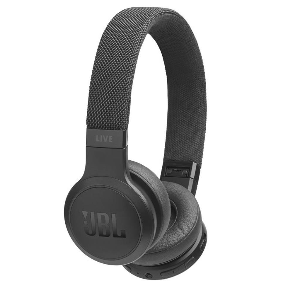 JBL Live 400BT On-Ear Wireless Headphone (black)