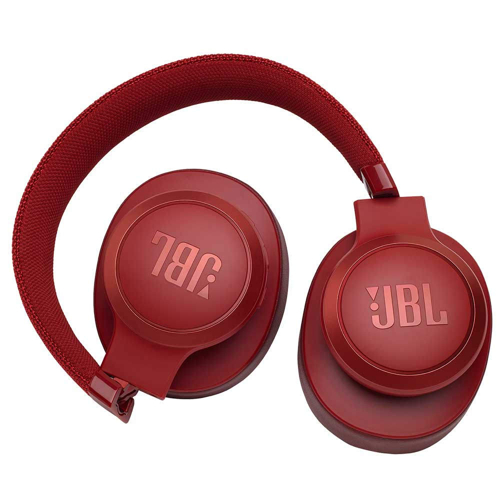 JBL Live 500BT Over-Ear Wireless Headphone (red)