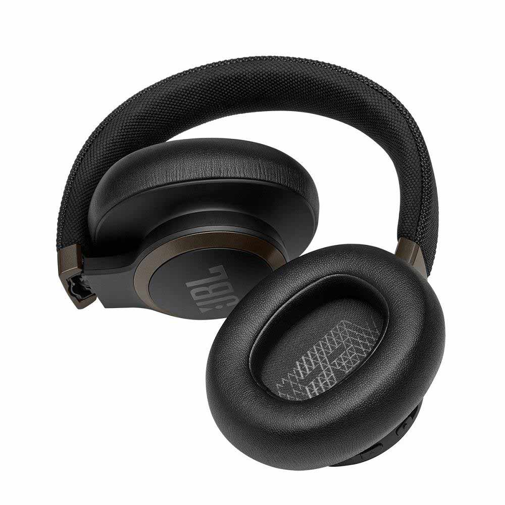 JBL Live 650NC Over-Ear Wireless Noise Cancelling Headphone (black)