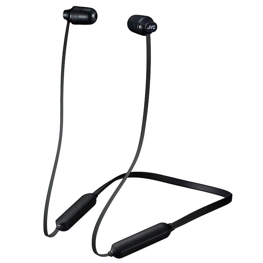 JVC Marshmallow In-Ear Bluetooth<sup>®</sup> Headphones with Mic - Black