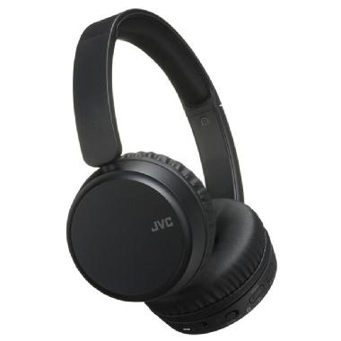 JVC Bluetooth<sup>®</sup>/Noise Cancelling Lightweight On-Ear Headphone with Mic &amp; Remote- Black