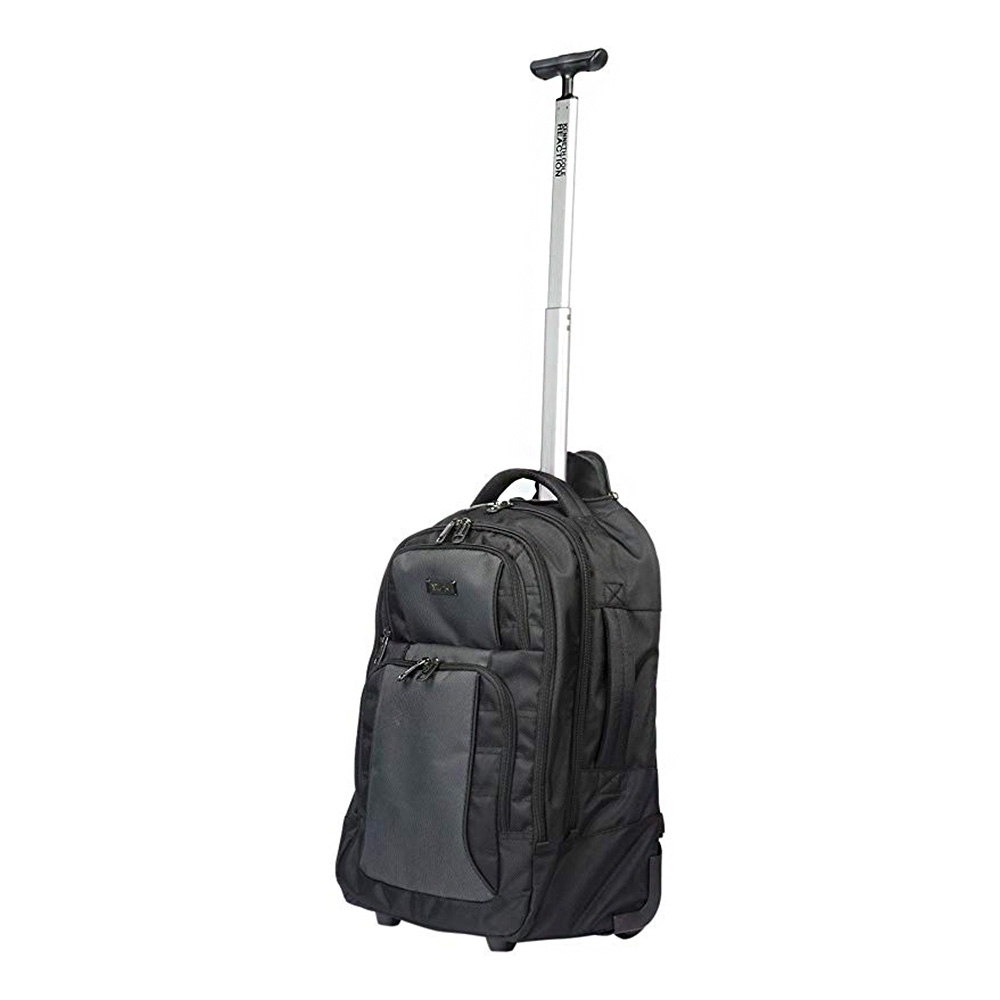 Kenneth Cole 17 inch Wheeled Laptop Backpack (Black)
