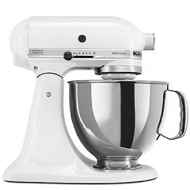 KitchenAid Artisan<sup>®</sup>  Series 4.73 L Tilt-Head Stand Mixer (White)