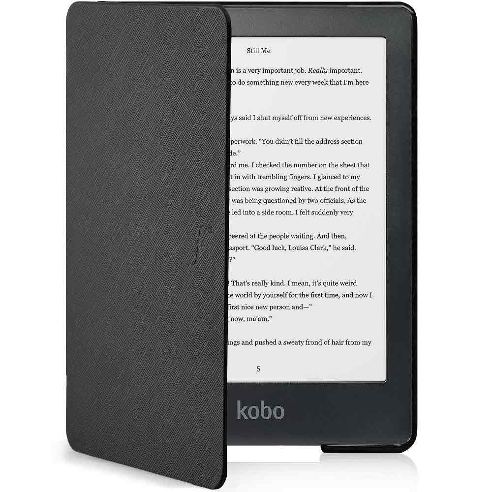 Kobo Clara e-Reader and case (Black)
