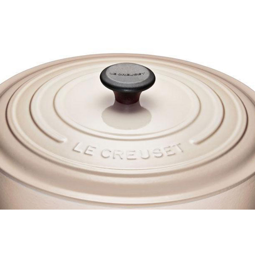 Le Creuset 6.2 L Shallow Round French Oven (Meringue)