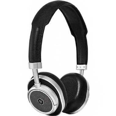Master & Dynamic MW50 Wireless On or Over Headphone (Silver Metal / Black Leather)