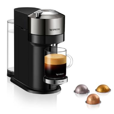 Nespresso Vertuo Next Deluxe by Breville, Dark Chrome