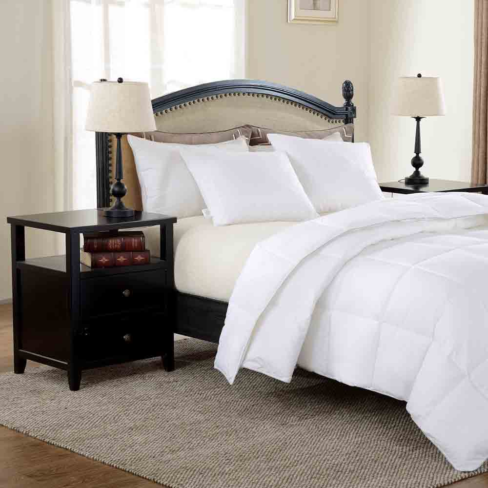 North Home All Season 230 Thread Count Down Alternative Duvet - QUEEN