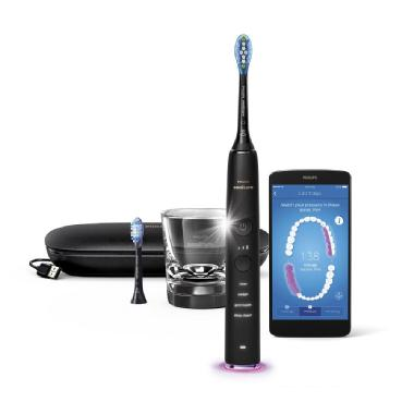 Philips Sonicare DiamondClean Smart 9350 Rechargeable Electric Toothbrush - Black