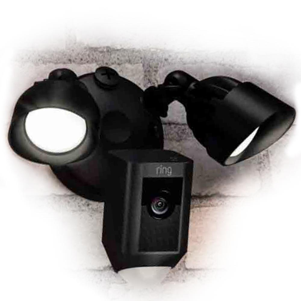 Ring<sup>™</sup> Floodlight Camera, Black