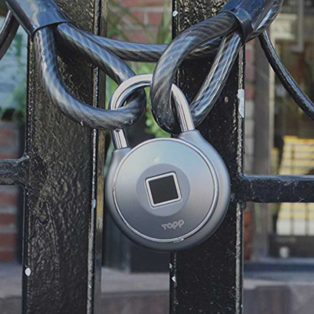 Tapplock one+  Bluetooth<sup>®</sup> Fingerprint Sensor Padlock