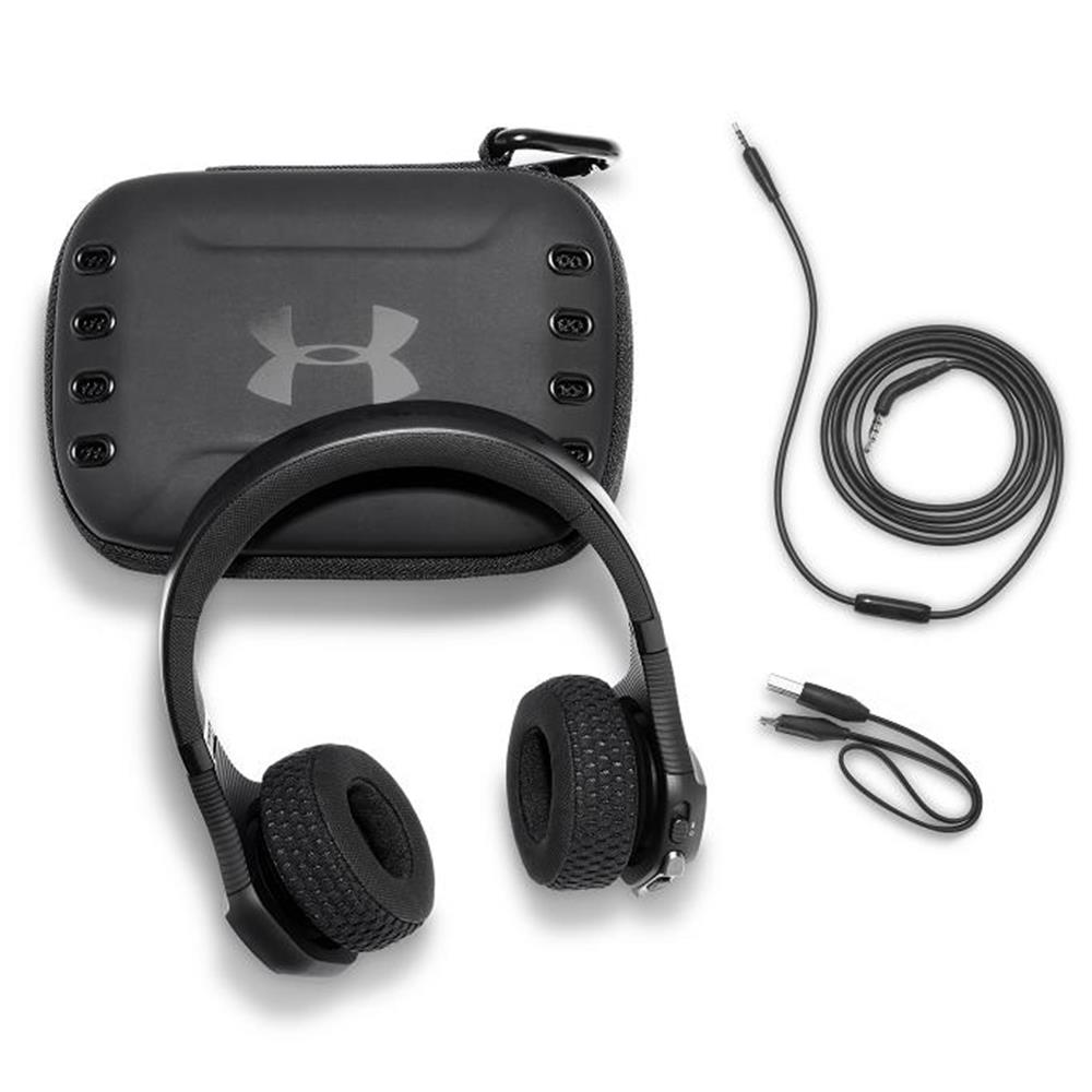 Under Armour<sup>®</sup> Sport Wireless Train on-ear headphone built for the gym - Engineered by JBL<sup>®</sup>