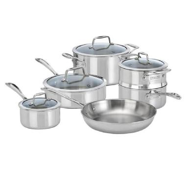 ZWILLING Vistaclad 10 Pc Cookware Set