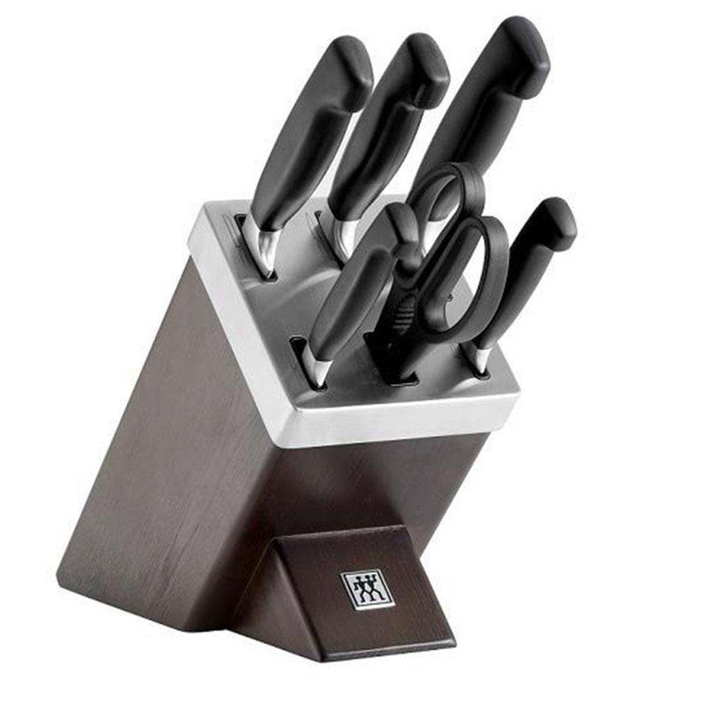 ZWILLING Four Star 7 Piece Self-Sharpening Block Set