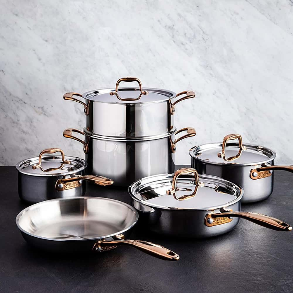 Zwilling Rosé 10 Piece Cookware Set