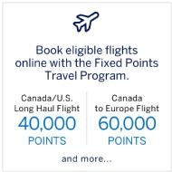 Membership Rewards Fixed Points Travel Program