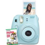 Fuji Instax Mini Instant Camera (Blue)