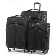 Celine Dion Collection TRIO 3 Piece Soft luggage (Black)