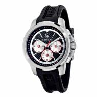Maserati Sfida Men's Analog Sport Watch (Black/Silver)