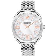 Swarovski Stainless Steel Crystalline Glam Watch (Silver Tone)