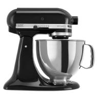 KitchenAid Artisan  Series 4.73 L Tilt-Head Stand Mixer (Onyx Black)