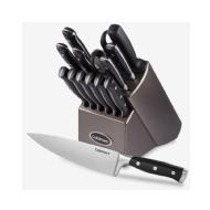 linkToText Cuisinart 15 Piece Forged Triple-Rivet Cutlery Knife Block Set detailsPageText
