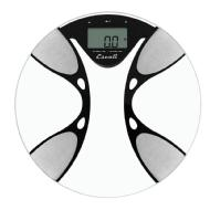 Escali Ultra Slim Body Composition Bathroom Scale