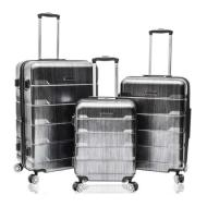linkToText AirCanada 3-Piece Lightweight Hardside Upright Suitcase Set Charcoal detailsPageText
