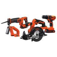 Black & Decker 20V MAX 4-Tool Combo Kit