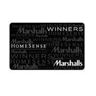 TJX Canada Gift Card WINNERS, HomeSense, Marshalls