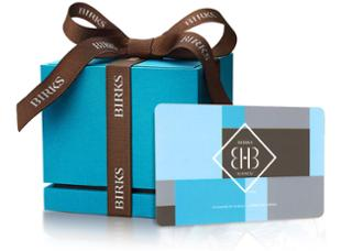 Birks Business Gift Card