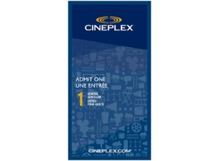 Cineplex Entertainment Admit One