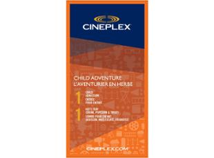 Cineplex Entertainment Child Adventure