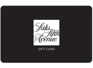 SAKS Saks Fifth Avenue Gift Card