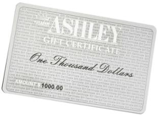 William Ashley Gift Certificate > $50