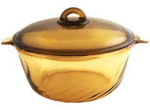 LUMINARC Amber Tempered-Glass Casserole 3.8L