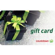 Link to Countdown Countdown Gift Card details page