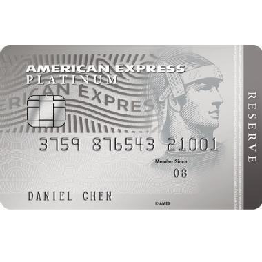 American Express<sup>®</sup> Platinum Reserve Card