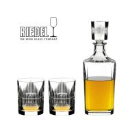 Link to CELLARMASTER Riedel Gift Set Shadow Whisky & Decanter (Set of 3) details page