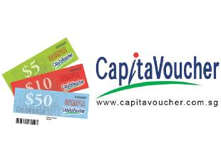CapitaLand From $10 to $200 Voucher