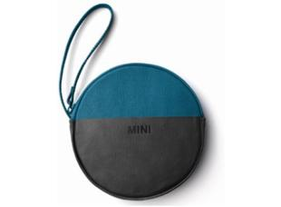 MINI Round Pouch (White/Black, Grey/Coral, Island/Black)