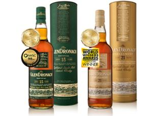 Malt & Wine Asia Award-Winning Scotch Whiskies The GlenDronach Revival 15 Years and Parliament 21 Years