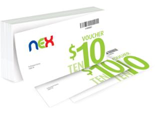 NEX From $20 to $50